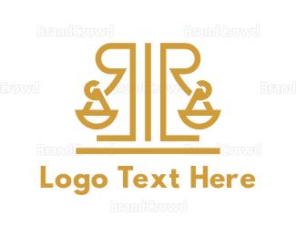 """Legal R Monogram"" by town"