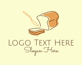 Bakery - Minimalist Bread Bakery logo design