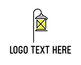 Furniture Store - French Lamp logo design