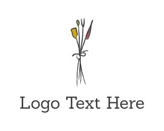 Delicate - Flower Bouquet logo design