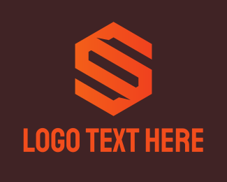 Symbol - Orange Abstract Symbol logo design
