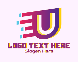 Speedy - Speedy Letter U Motion  logo design