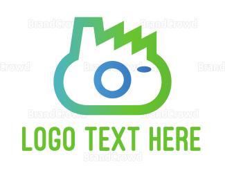 Photo - Green Camera logo design