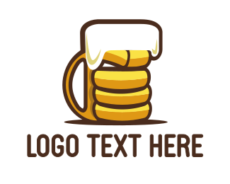 Craft Beer - Strong Brewery logo design