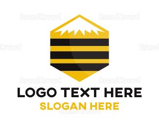 Sweet - Hive Mountain logo design