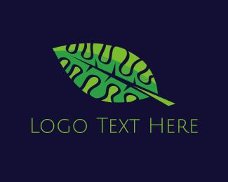 May - Smart Leaf  logo design