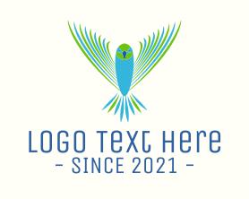 Free - Flying Aviation Bird logo design
