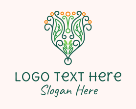 Bouquet - Decorative Flower Bouquet logo design