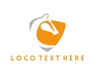 Investment Bank - Horse & Shield logo design