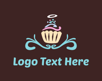 Angel - Angel Cupcake logo design