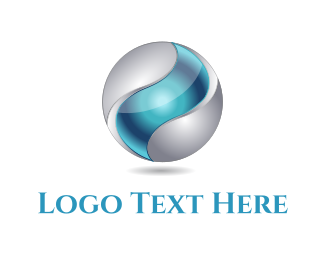 3d - Tech Sphere logo design