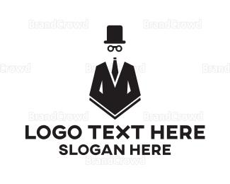 Jacket - Vintage Gentleman logo design