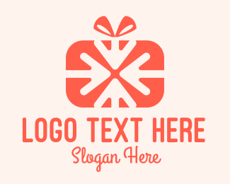 Hamper - Pink Gift Delivery logo design