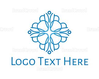 Blog - Blue Dahlia logo design