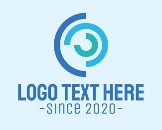 Cycle - Blue Cycle Business logo design