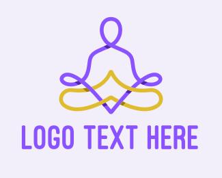 Spirituality - Minimalist Yoga Studio  logo design