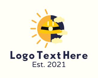 Day - Day & Night Construction logo design