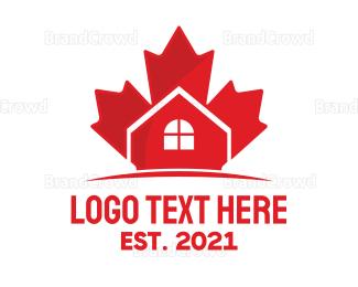 Canadian - Canadian Real Estate logo design