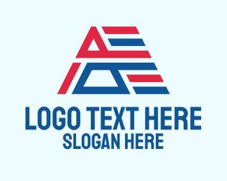 Democrat - Political Letter A logo design