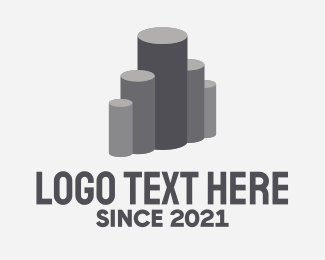 Metal - Industrial Metal Pipes  logo design
