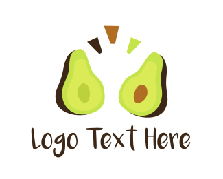 Kiwi - Green Avocado logo design