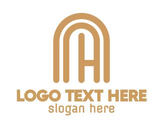 Capsule - Tan C Capsule  logo design
