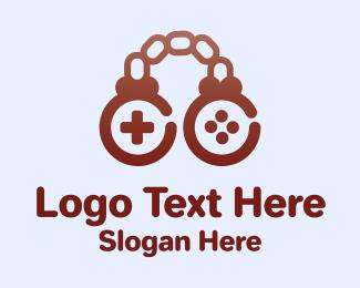 Chain - Brown Chain Controller logo design