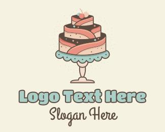 Cake - Sweet Cake logo design