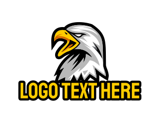 Angry - Angry Eagle Gaming logo design