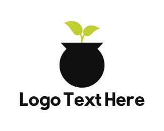 Plant - Plant Pot logo design