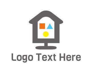 Playground - Playground House logo design