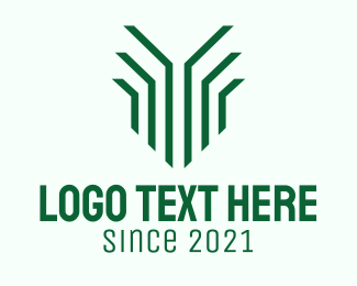 Grass - Green Organic Grass logo design