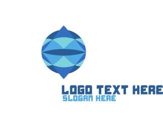 Gemstone - Crystal Circle logo design
