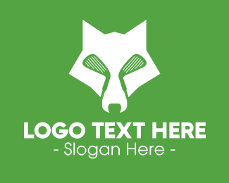 Coyote - Golf Wolf logo design