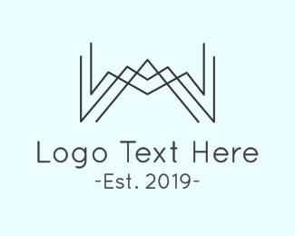 Minimalist W Logo
