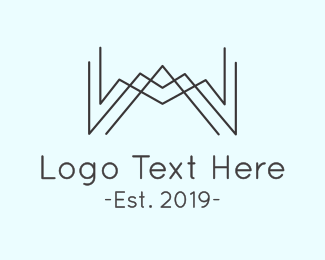 Minimalist - Minimalist W logo design