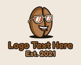 Specs - Coffee Bean Sunglasses Cafe logo design
