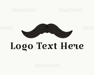 Whiskey - Vintage Moustache logo design