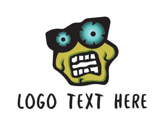 Dark - Zombie logo design