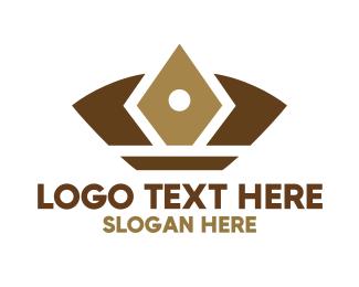 Sultan - Abstract Gem Crown logo design
