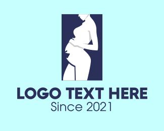 Pregnancy - Maternity Pediatric logo design