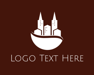 Buildings - Coffee City logo design