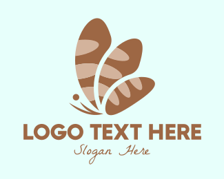 Restaurant - Butterfly Bread Bakery logo design