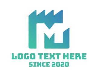 Letter M - Property Letter M logo design