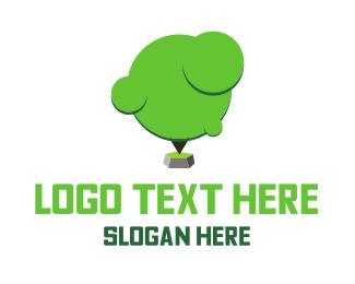 Rock - Tree Rock logo design