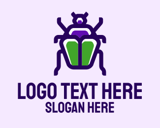 Insect - Beetle Insect logo design