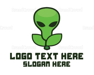 Alien - Alien Fruit logo design