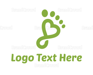 Chiropodist - Foot Spa logo design