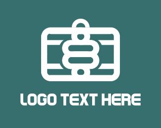 Briefcase - Eight Travel logo design