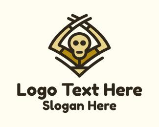 Cartoon Ghoul  Logo